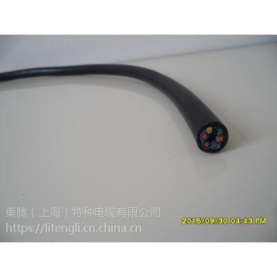 栗腾(上海)特种电缆供应TRVV耐弯曲伺服电缆 特性;柔软、耐寒、耐磨、耐弯曲、耐油、阻燃