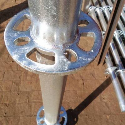 盘扣式脚手架立杆横杆斜拉杆结构构造图
