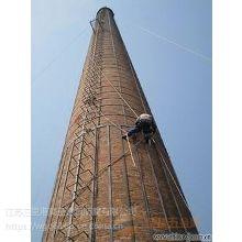 锅炉烟囱裂缝加固维修 烟囱倾斜校正欢迎洽谈