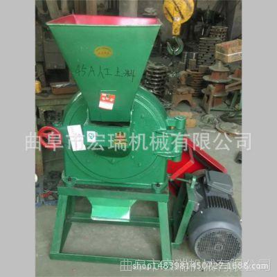 玉米饲料专用粉碎机,新款除尘式粉碎机 豆秸粉碎机型号