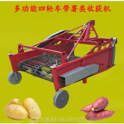 山东农用红薯地瓜收获机 土豆出土刨地蛋机厂家 80型马铃薯收获机