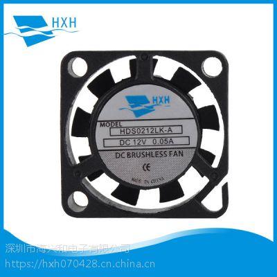厂家HXH供应传感器散热专用直流微型风扇2006 5V含油风扇