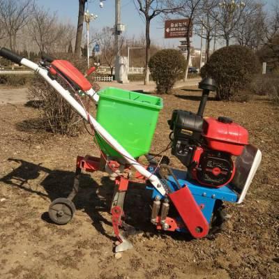 玉米播种机 手持式茶园除草施肥机 多功能棉田耘耕机爆款