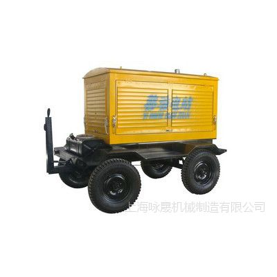 上海地区马路施工100kw柴油发电机全铜线柴油发电机组移动发电机