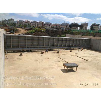 50m*3m弧形钢坝闸门 工业节水设备 河北昊宇水工供应