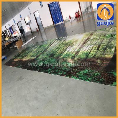 喷绘厂家专业生产内打灯刀刮布UV 户外防水大型灯布可使用1到2年宽度5m以内上海生产工厂质量好