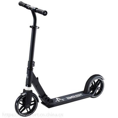 8寸可定制铝合金脚踏折叠滑板车平衡车代步车时尚成人款A85