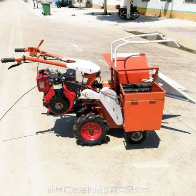 家用自走式玉米收获机 山区平原多功能方便好用玉米收获机 柴油式秸秆粉碎机