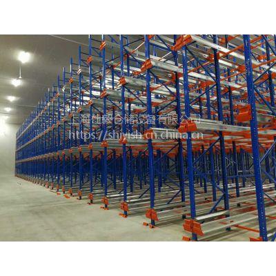 上海仕毅供应化工成品库密集货架,穿梭式货架