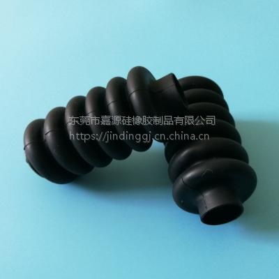 波浪形硅胶保护套 耐高温杂件防护弹簧套 护线套过线圈