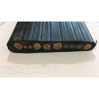 栗腾(上海)特种电缆供应YFFB组合扁电缆 特性;耐磨、抗撕裂、耐弯曲、柔软、耐寒、阻燃