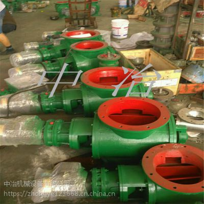 供应各种型号卸料器 法兰卸灰阀 除尘配件