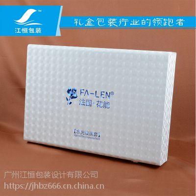 厂家直销连体盒 高档PU皮 精美化妆品包装盒
