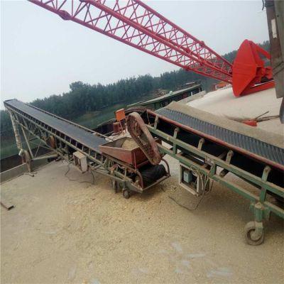 粮食带式输送机直销 兴亚大豆裙边皮带机厂家