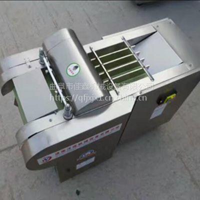 手工酸豆角切段机价格 佳鑫海带切菱形机 多功能电动切丁机