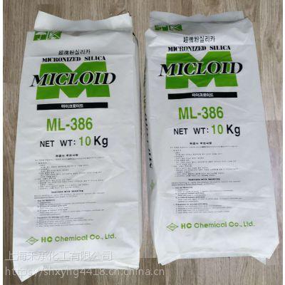 韩国HCC高质量高透明度水性涂料消光粉386