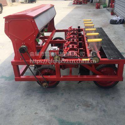 香菜播种机 芥菜谷子精播机 拖拉机带动高粱播种机厂家