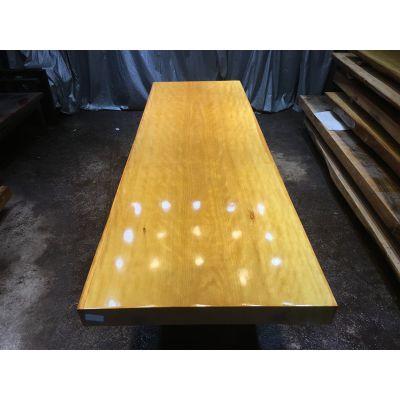 黄花梨大板桌工厂直营各种现货尺寸实木原木餐桌茶桌办公桌278长88宽特价