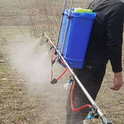 志成蔬菜基地打药机 背负式电动喷雾器 草坪茶园病虫害防治打药机