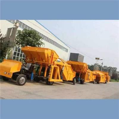 长治中拓一拖三喷浆车|潮式混凝土喷浆机混凝土机械