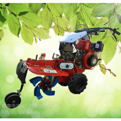 柴油动力果园开沟机 大葱大姜种植开沟培土机 大功率柴油微耕机