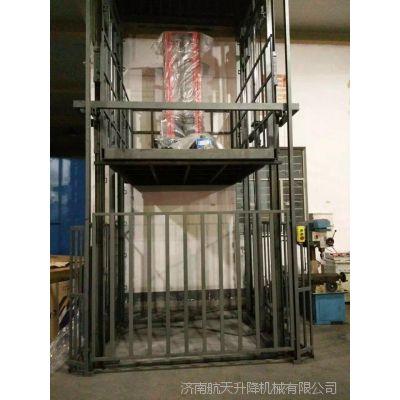 广州升降货梯厂家 鞋厂导轨链条式升降机多少钱 固定式液压升降台维修