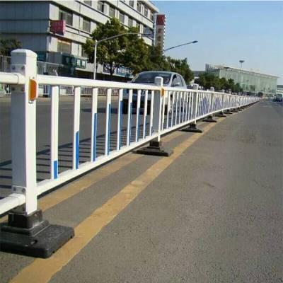 锌钢栅栏 交通隔离栏 市政护栏 道路马路栏杆 河南郑州护栏厂