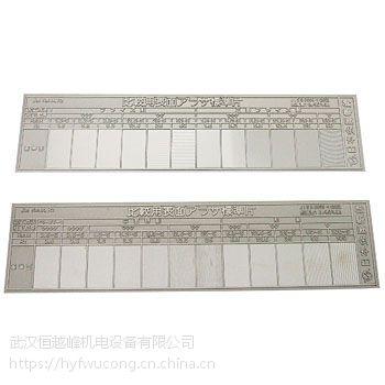 供应日本金属电铸表面粗糙度标准片HA型平面用2块一组