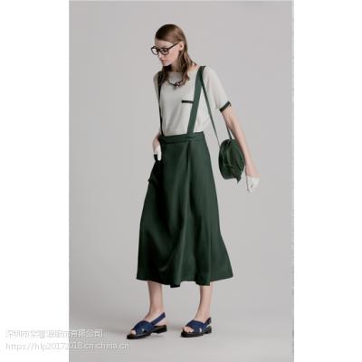希色简约纯色女装货源供应 一手货源品牌桑蚕丝女装尾货走份批发
