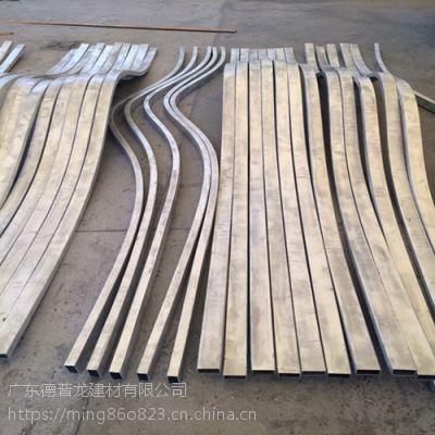 广州造形弯弧铝方通厂家订货价格