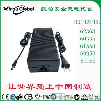 24V8A xinsuglobal 6级能效 美规UL FCC认证 24V8A电源适配器