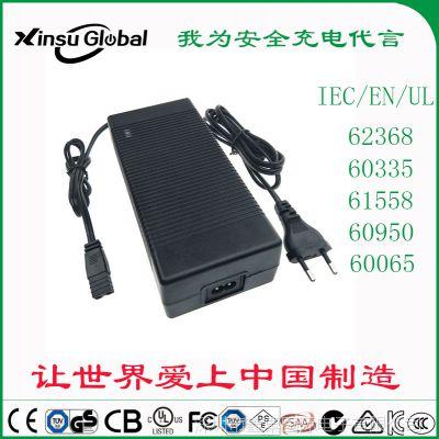 58.4V3A電池充電器 xinsuglobal 美國FCC UL認證 58.4V3A鉛酸電池充電器