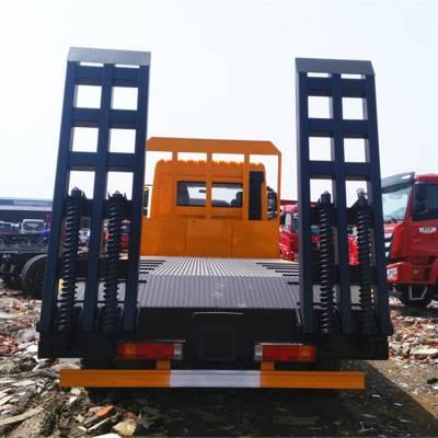 三环前二后八挖机平板拖车拉240挖机上高速用拖车18672732638