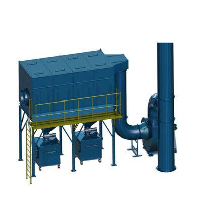 工业用集尘器 防爆中央除尘器 吸尘器 激光切割机除尘机 普惠环保