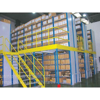 潍坊晓宇阁楼货架多层货架钢平台