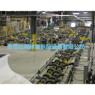 青岛亿双林黄夹克保温管生产线 先进的保温管生产设备 夹克管生产线低价优惠