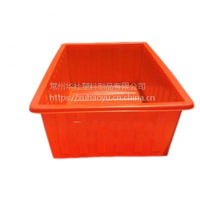 华社工厂加工定制各种型号:滚塑PE材质布草车/推布车/印染周转桶