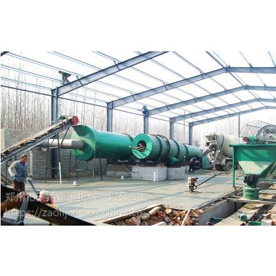 新疆回转式烘干机 有机肥生产线 有机肥设备