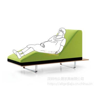 供应深圳众晟家具ZS-SF03皮制孕妇候诊母婴休闲等候沙发