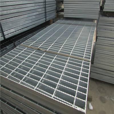 q235钢格板 防滑踏步板 耐碱格栅板