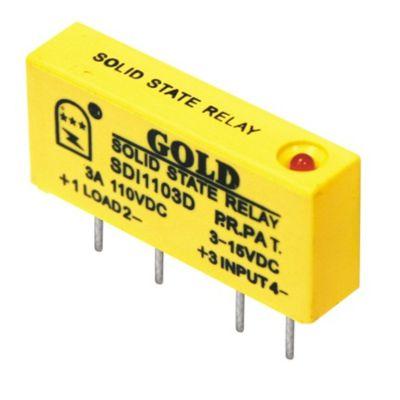 【单列直插式直流固态继电器 】SDE1104D橡塑机械辅机配套使用 固特厂家自行研发生产