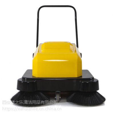 平凉明诺MN-P100A电动手推式扫地机 工厂车间保洁用电动扫地机