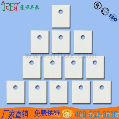 佳日丰泰供应T0-3P绝缘陶瓷片氧化铝 高散热陶瓷片1*20*25mm