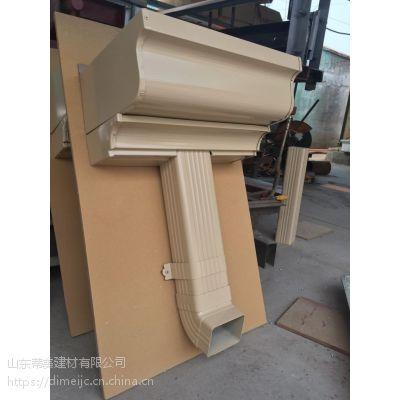哈尔滨天沟 天沟安装 pvc雨水管 檐沟的尺寸 金属落水系统是什么