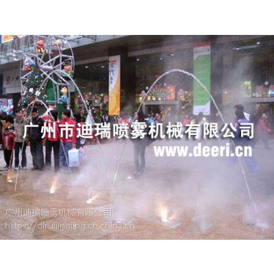 休闲娱乐广场喷雾降温系统