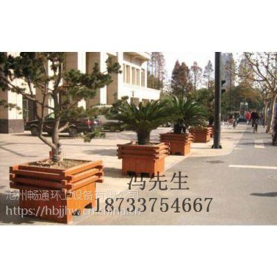 沧州畅通ct-1205型户外实木花箱、防腐木花箱厂家直销供应
