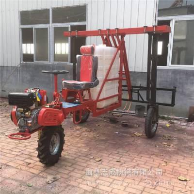 高杆作物专用打药机 186型柴油动力打药机 农作物去虫喷药机