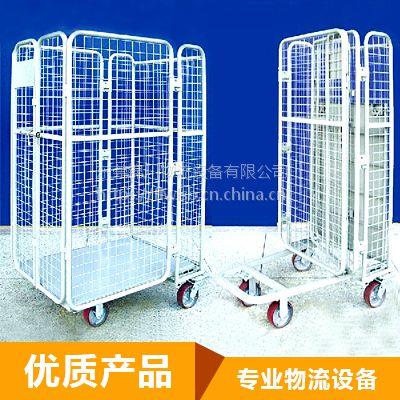 厂家专业定制刹车物流台车 分层无轮痕物流台车 东莞锦川