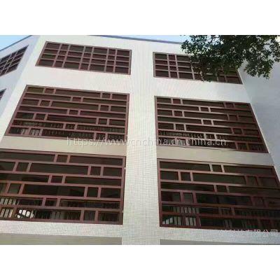 环保惠州雕刻窗花 湛江铝合金雕花窗花 广州铝窗花