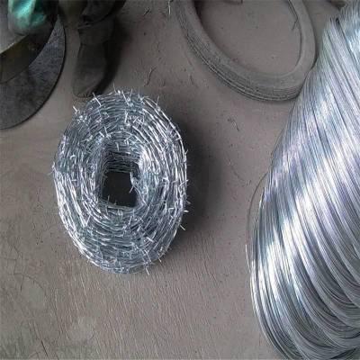 监狱带刺铁丝网 带刺铁丝网安装 刺绳规格